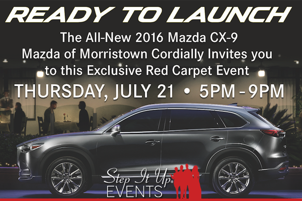 Going Green U0026 Ready To Launch The New CX9 With Open Road Mazda Of Morristown
