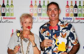 cathy  birthday retirement celebration